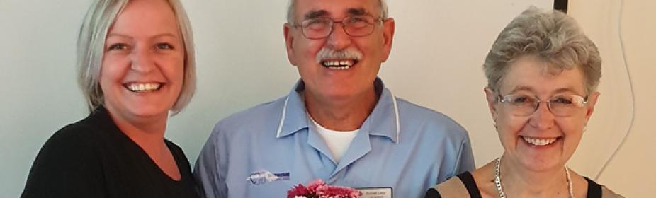 Russell Little Long service award
