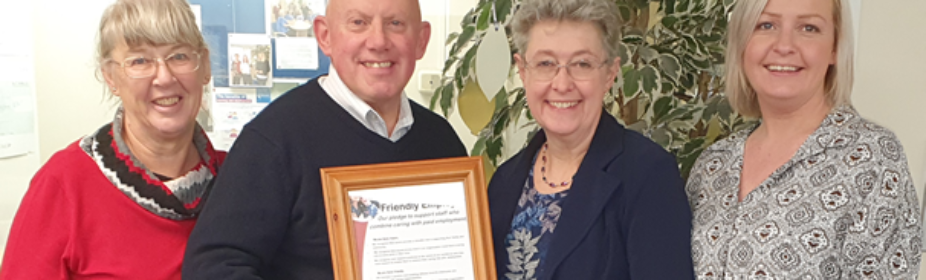Supreme Home Care has been recognised as a Carer Friendly Employer